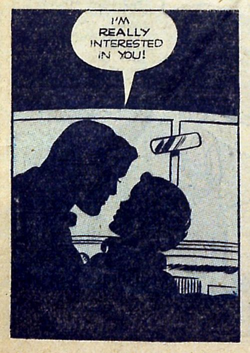 Lover's Lane #24 (1951) Somehow, she picked up on that.