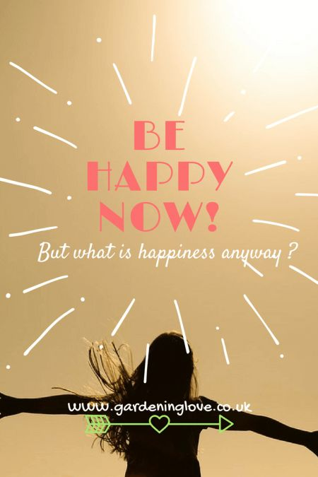Happiness. Be happy now! But what is happiness anyway? Standing in the sunshine, arms stretched, free and happy.
