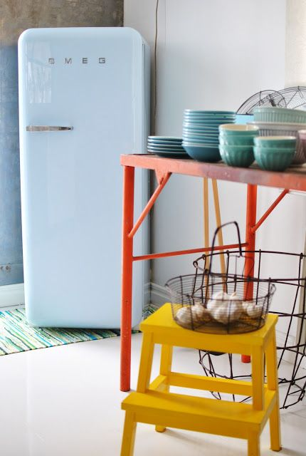 17 meilleures id es propos de frigo smeg sur pinterest for Frigo cuisine pro
