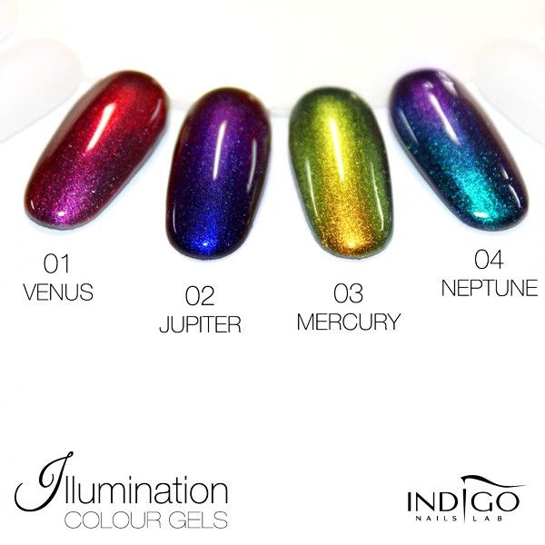 Indigo Illumination gel 03 Mercury - Indigo