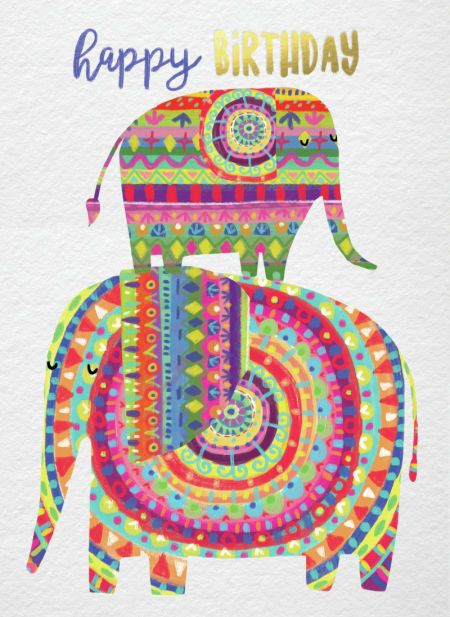 Best 25 Happy Birthday Elephant Ideas On Pinterest