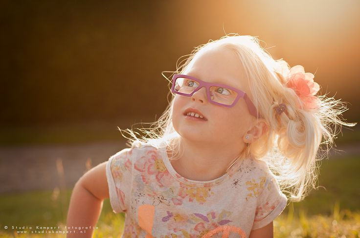 Beautiful girl in the golden hour! This girl is Mies from holland! So much color! by studio kampert