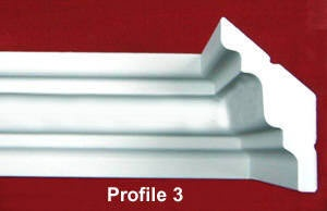 Crown molding for sloped cathedral angled ceilings crown molding