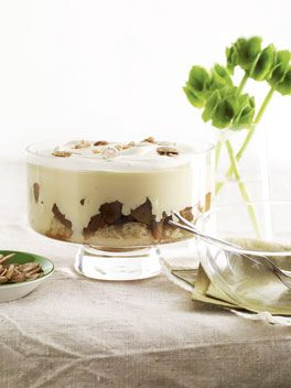 Apple and Calvados trifle- one of uk chef Fergus Henderson's favourite puddings