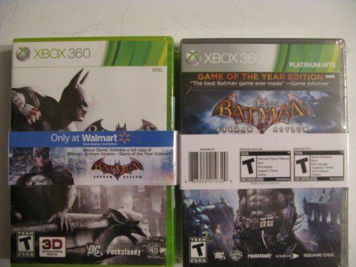 Batman Arkham City  Batman Arkham Asylum * Read more  at the image link. Note:It is Affiliate Link to Amazon.