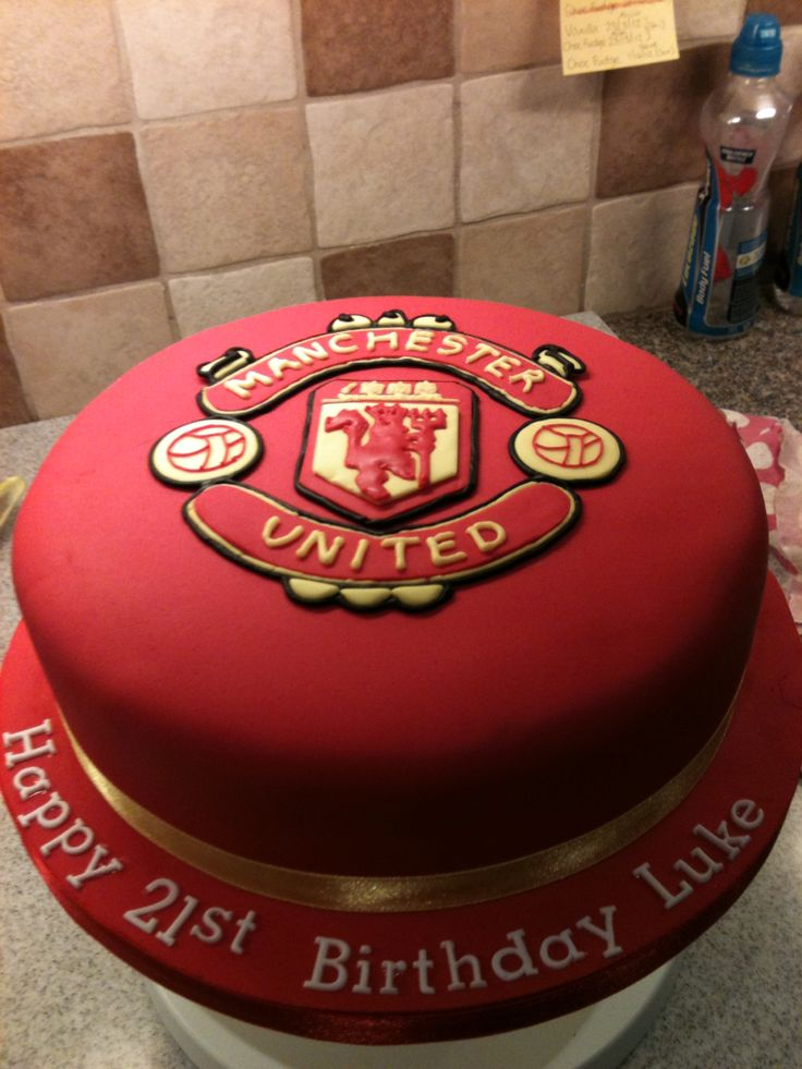 Best 25 Manchester United Cake Ideas On Pinterest