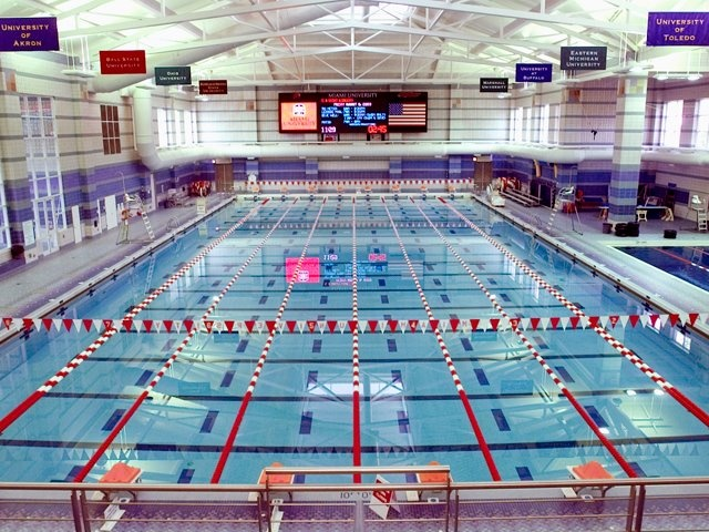 Corwin M. Nixon Aquatic Center- Miami University #MiamiOH
