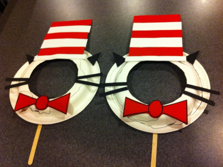 Cat in the Hat Masks | Kids Crafts | Pinterest | Hat Party, Hats and ...
