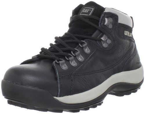 """Caterpillar Women's Active Alaska Boot Caterpillar. $69.09. leather. Shaft measures approximately 4.5"""" from arch. Cement construction. ASTM F2413-05 I/75 C/75 steel toe. Rubber sole. Nubuck or Tumbled Grain Leather Upper. Heel measures approximately 1.25"""". Slip resistant. Electrical Hazard"""