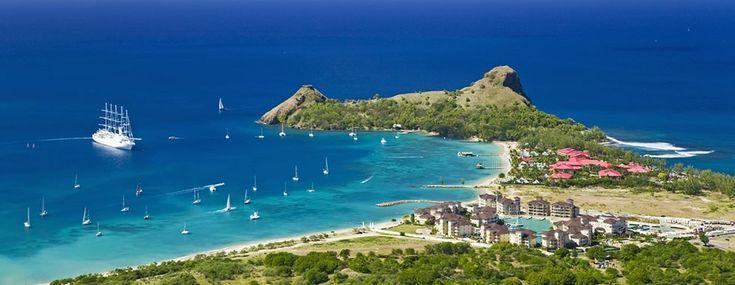 The Landings, 5 star luxury beach resort in Castries, St. Lucia