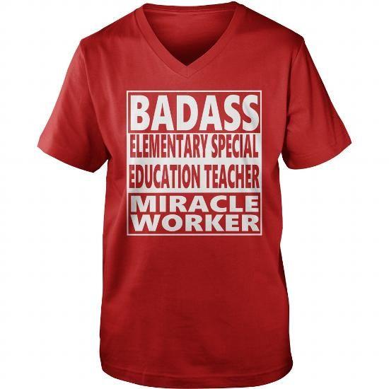 ELEMENTARY SPECIAL EDUCATION TEACHER JOBS TSHIRT GUYS LADIES YOUTH TEE HOODIE SWEAT SHIRT