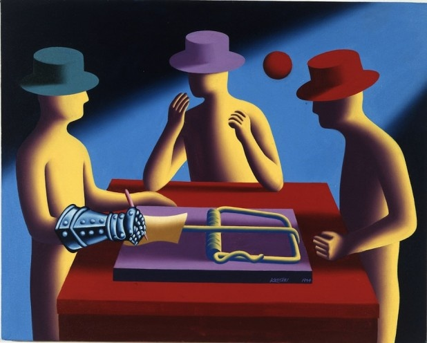Corey Armpriester's interview on artblog with Mark Kostabi--a very fine read!