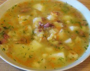 Zupa zacierkowa mojej babci