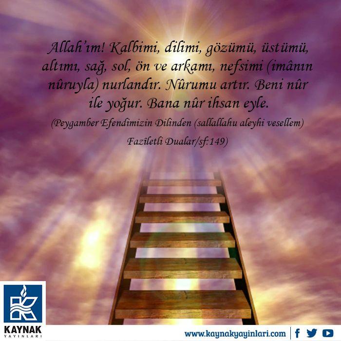 Hayırlı Cumalar… #kaynakyayinlari #merdiven #basamak #cuma #dua #pray #kitap #dua