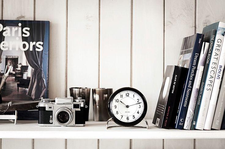AJ Table Clock from Rosendahl. Design by Arne Jacobsen.