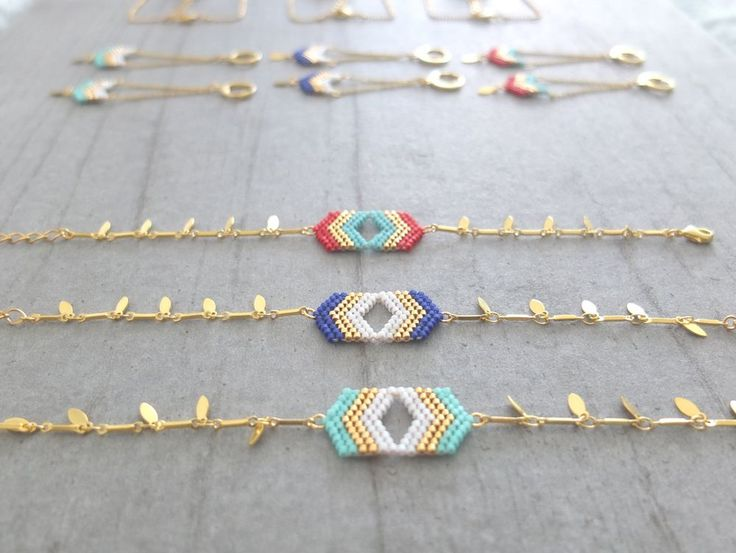 Bracelet ★ les chevrons★ via My-French-Touch. Click on the image to see more!