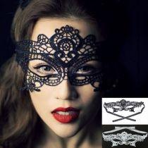 Impresionante nuevo cordón de la máscara de la mascarada de los ojos del vestido de lujo del partido de Halloween Hotsale