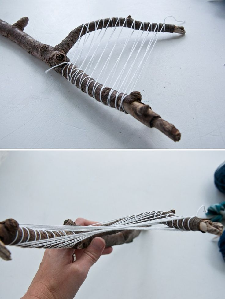 How to Make Your Own Stick Weave