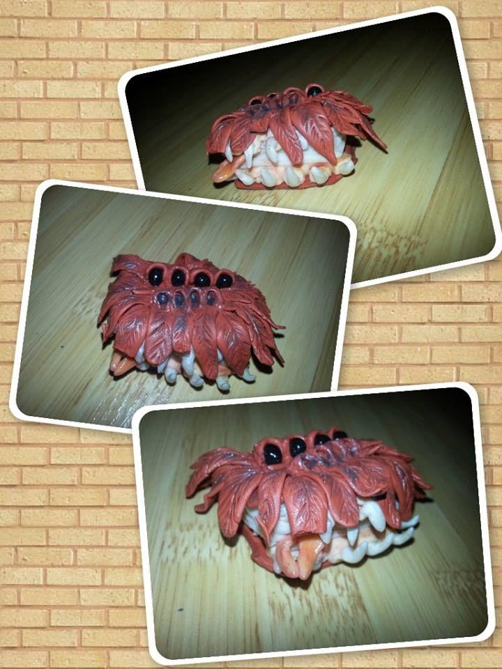 #Handmade #Polymer clay # monster book of monsters #Happy Potter #Prisoner of Azkaban #Happy Cherry
