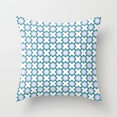 Tile Collection #4 cushion by Peta Herbert $20.00 #Society6