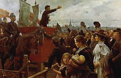 I det moderne gennembrud, kom der flere politiske ideologier på banen. Danmark fik sin første grundlov 1849, og var nu i gang med en gennemgribende forandring!