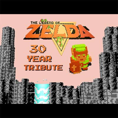 A fan tribute to the greatest console game of all time, the NES Legend of Zelda. This open source project uses WebGL and voxels rendering to create a pixel-perfect replica of the original, all in Javascript.  #Gaming #VideoGames #Nintendo