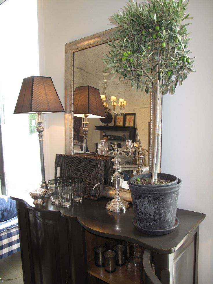 We love to decorate with mirrors...