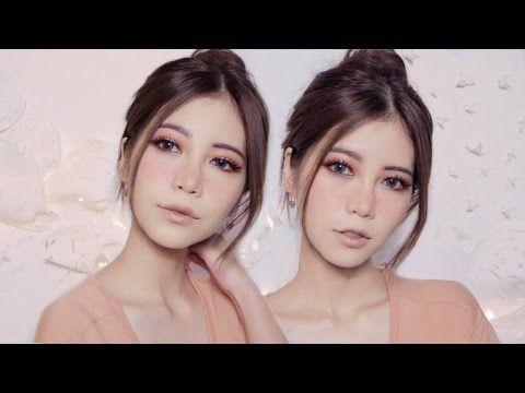 Fun & Cute makeup + Freckle Makeup Tutorial - YouTube