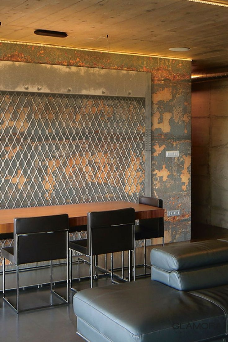 Excess | Industrial Wallcovering & Carta da Parati | Raw collection by Glamora