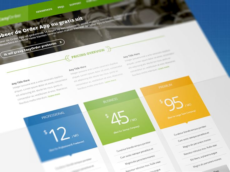 27 best pricing table templates images on pinterest pricing table
