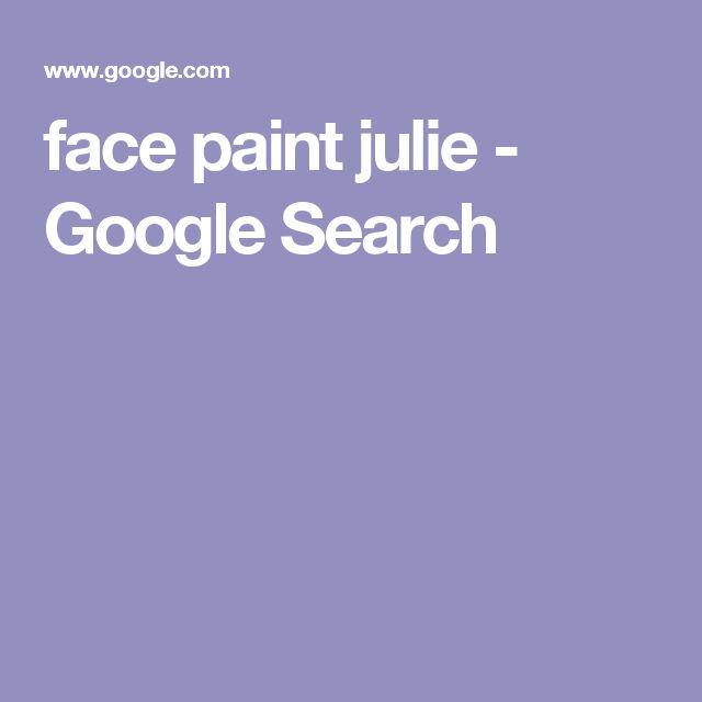 face paint julie - Google Search