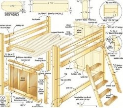 Free Loft Plans On Bunk Bed Critical Info You Should Know