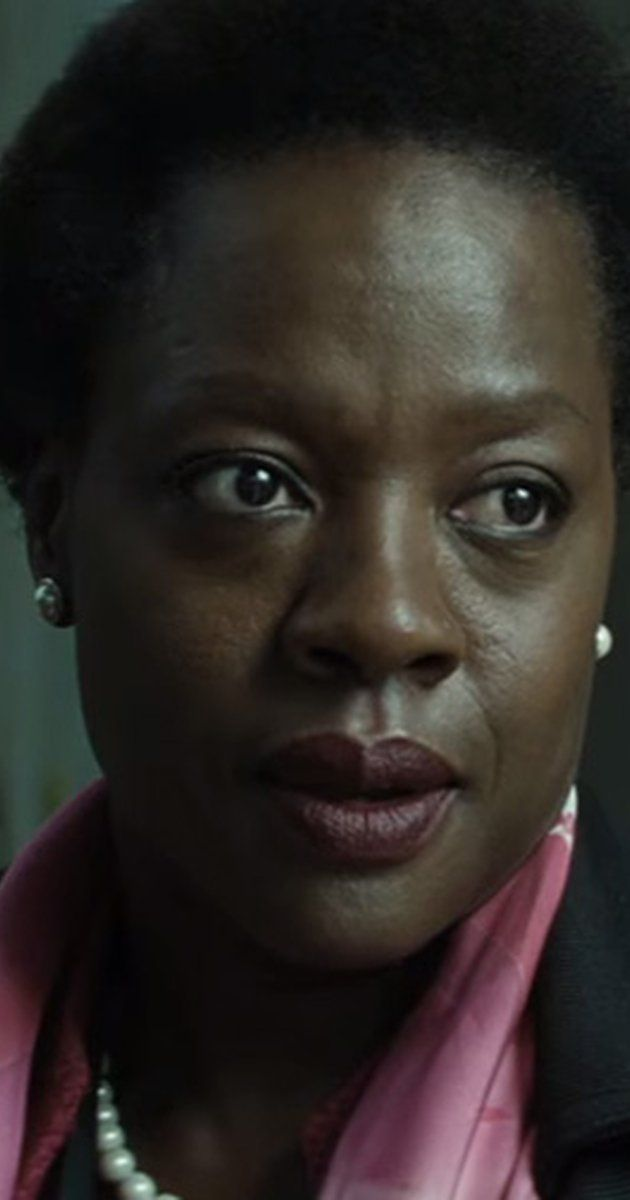 Viola Davis as Amanda Waller in Dc Comics' Suicide Squad(2016)