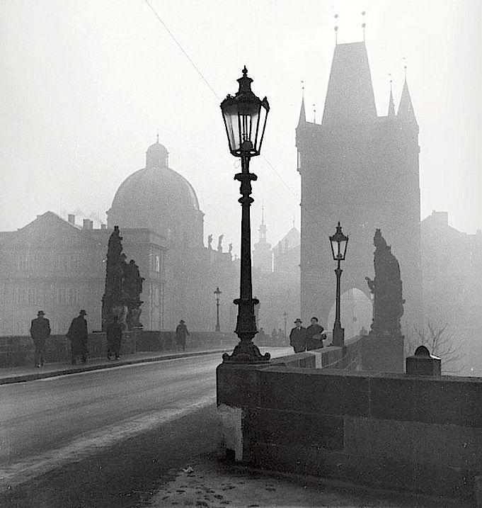 Jaroslav Kysela, Charles Bridge, Prague, 1939