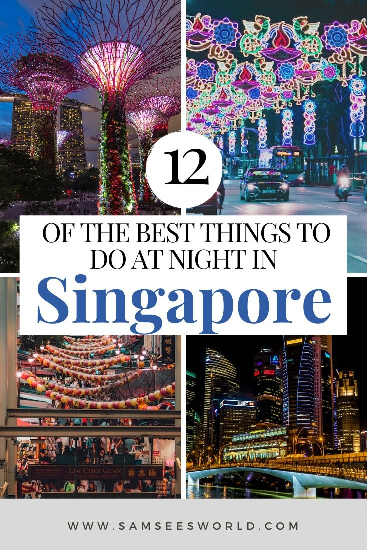 Things To Do In Singapore At Night Singapore Travel Singapore Travel Tips Southeast Asia Travel