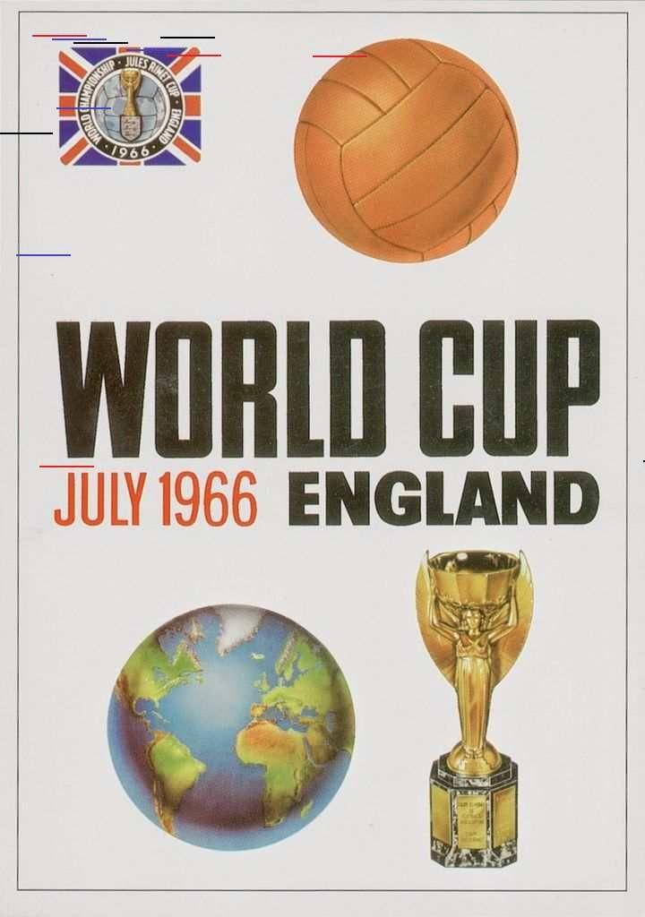Posters De La Coupe Du Monde De Foot De 1930 A 1994 2tout2rien 1966 World Cup Soccer World World Cup