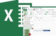 Passando dados de uma coluna para uma linha e vice-versa no Excel