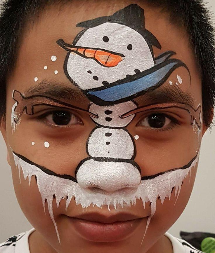 привлекательны тем, аквагрим снеговик фото нерв