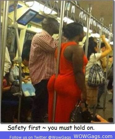 Safety first you must hold on...LOL