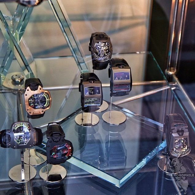 URWERK's Watches by The Horophile