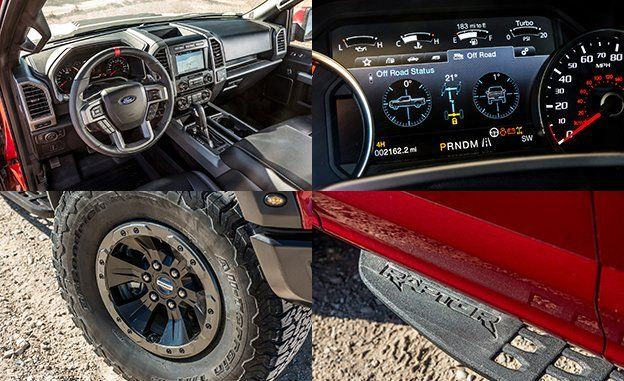 Ford F-150 Raptor SuperCab 2017
