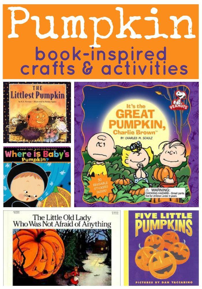 Pumpkin Book Inspired Crafts and Activities