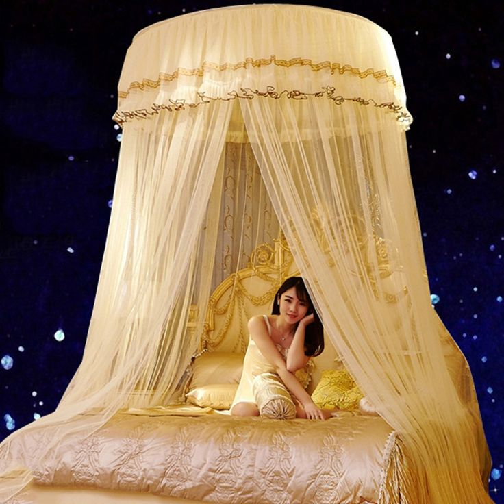 fall d?cor Luxury Romantic Hung Dome Mosquito Net Princess Students Insect Bed Canopy Netting Lace Round Mosquito Nets Curtain for Bedding -*- AliExpress Affiliate's buyable pin. Locate the offer on www.aliexpress.com simply by clicking the image #MosquitoNets