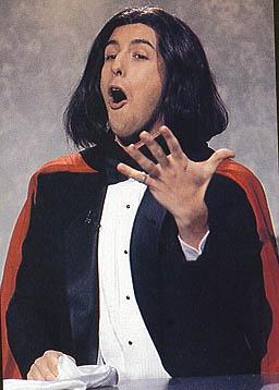 Saturday Night Live - Adam Sandler being the opera guy