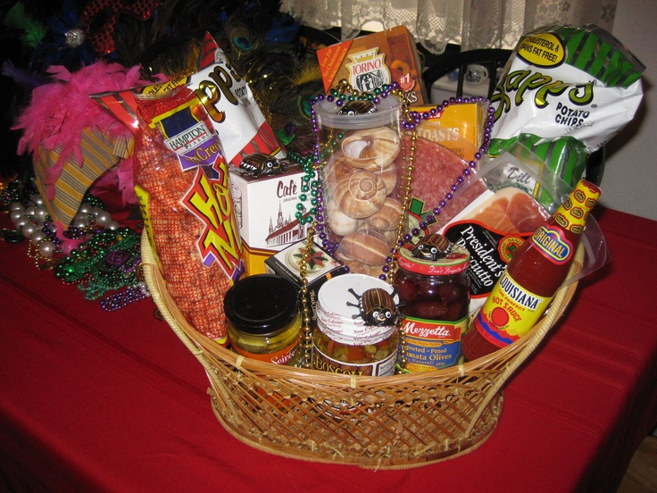 Themes For Gift Baskets: 1000+ Images About Mardi Gras Basket Ideas On Pinterest