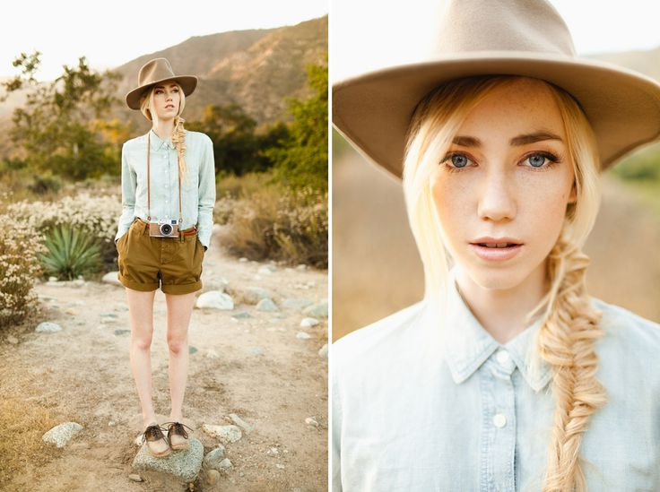 Forest Rangers by Ben Sasso.  The color pallet in this shoot is warm and golden!  Love it all!