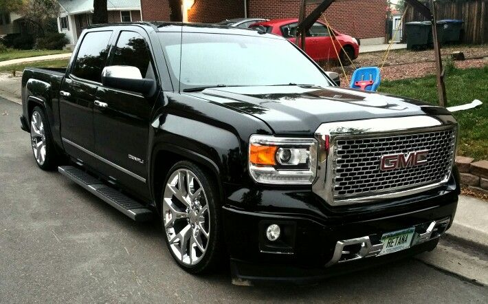 2014 Sierra Denali dropped slammed lowered