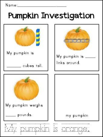 We're headed to the pumpkin farm tomorrow!  At the end of our trip, each student will get to pick out a pumpkin to bring home.    When we re...