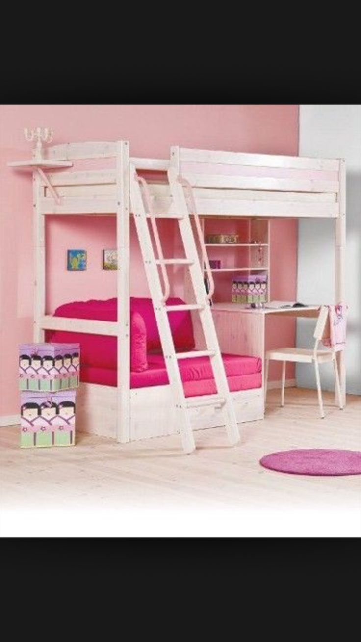 Bunk bed with desk underneath for girls - 25 Best Ideas About Bunk Bed With Desk On Pinterest Bed With Desk Underneath Team Gb Olympic Modern Pentathlon Athletes And Girls Bedroom With Loft Bed