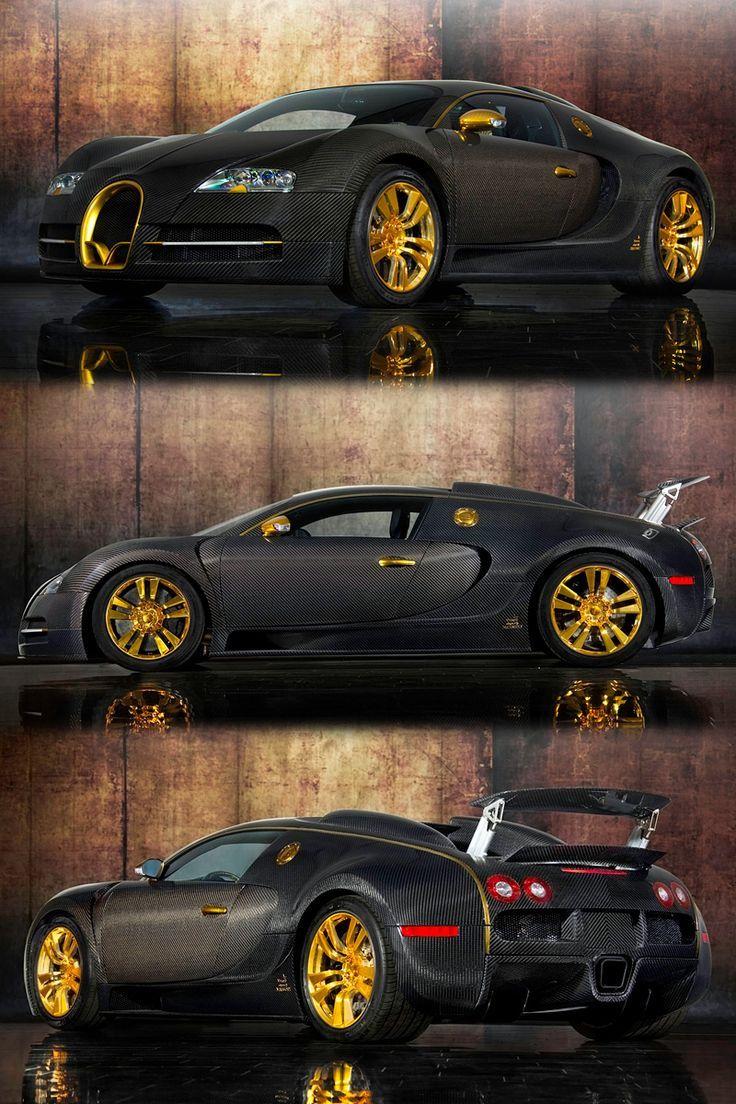 Mansory #Bugatti #Veyron Linea Vincero d'Oro